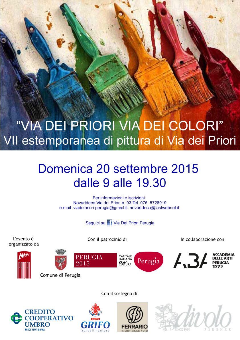 destate la notte. Via dei Priori Via dei Colori - Turismo Perugia
