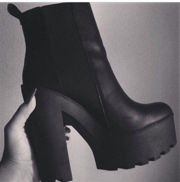 42+ Platform high heel boots ideas information