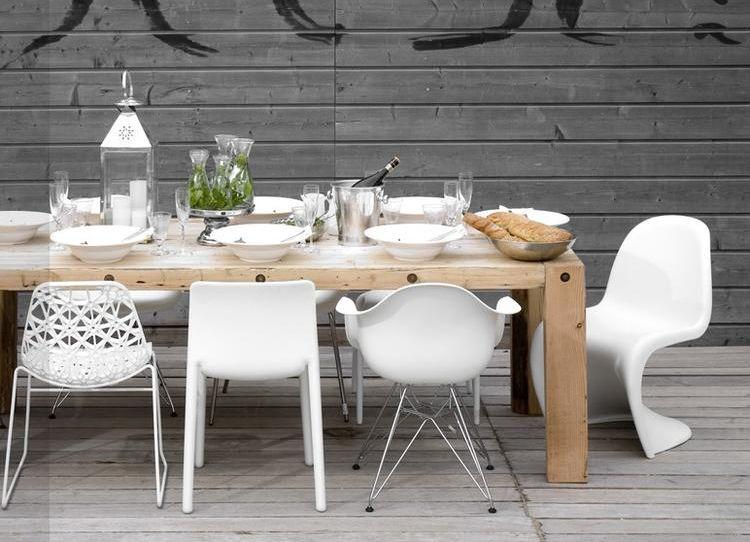 10x hippe witte eetkamerstoelen eetkamerstoelen stoelen en tuin