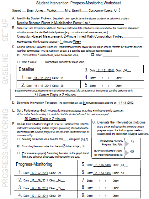 How To Structure Classroom Data Collection For Individual Students Intervention Central Progress Monitoring Reading Intervention Student Data Welcome, to the early intervention central billing office website! how to structure classroom data