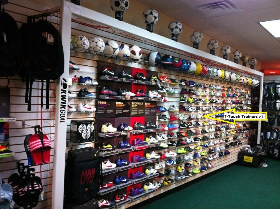 7-Touch Trainers on display and sale at Sterling Soccer Supply ...