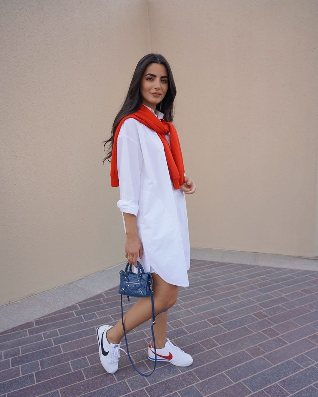 Basma Hamze بسمة حمزة On Instagram Ended Up Wearing Both Cute Everyday Outfits Dress And Sneakers Outfit Chic Outfits Classy