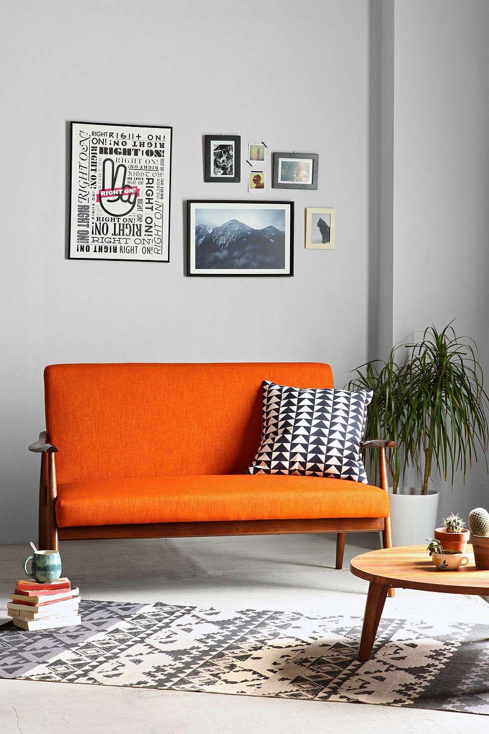 Sterling Wood Frame Sofa