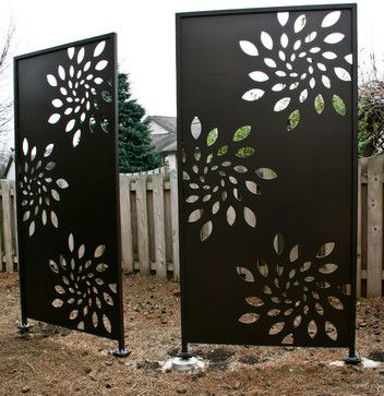 privacy screen metal - Google Search