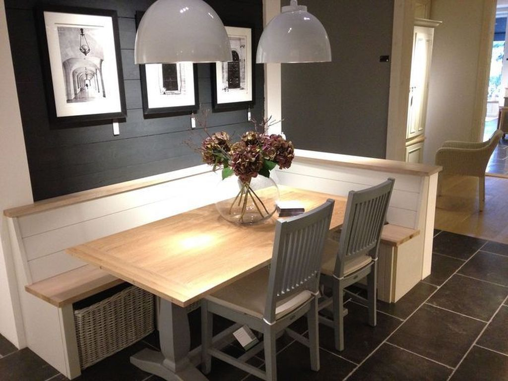 33 Awesome Corner Bench Kitchen Table Design Ideas in 2020 ...
