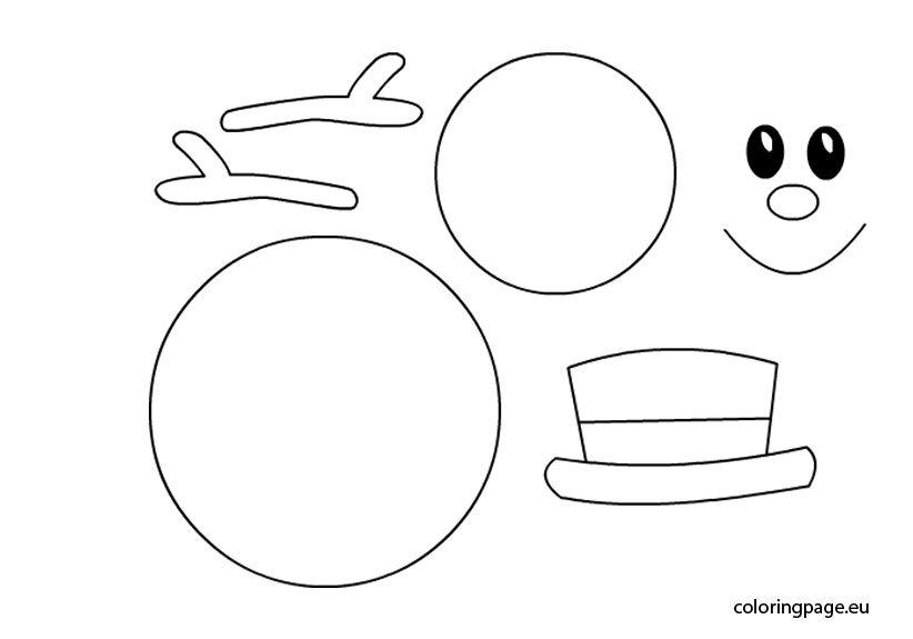 Snowman Printable Snowman Faces Printable Snowman Snowman Coloring Pages