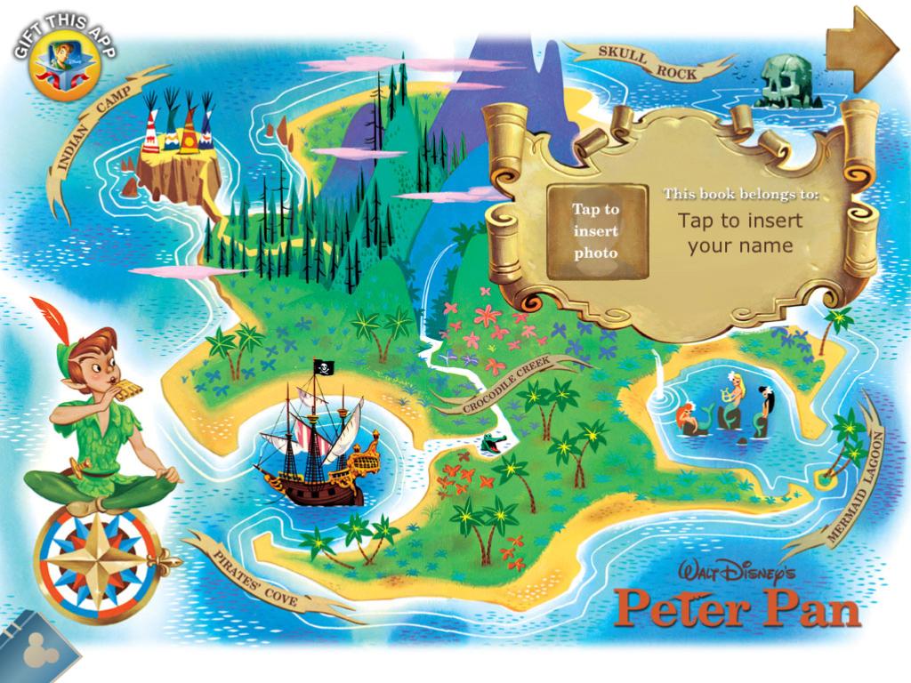 Neverland Peter Pan Disney