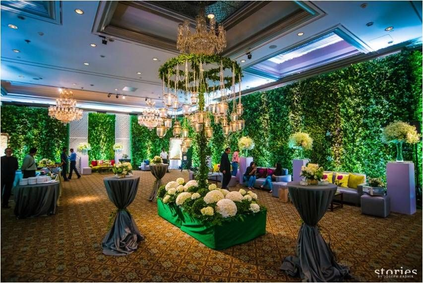 7 Indian Wedding Themes that totally WOW ! Indoor garden
