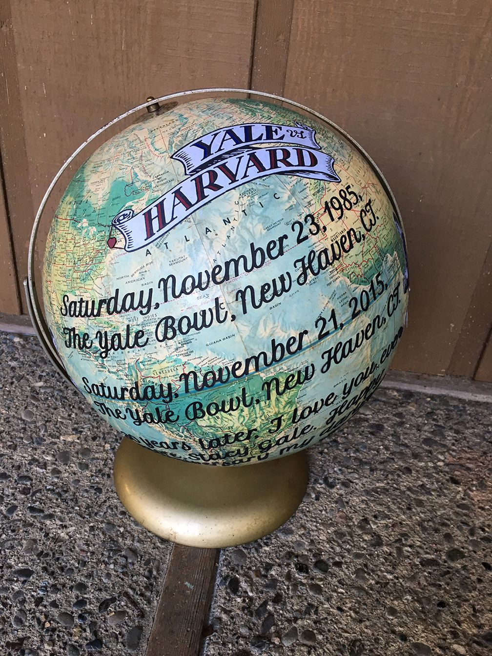 commemorate a special occasion with a #customglobe