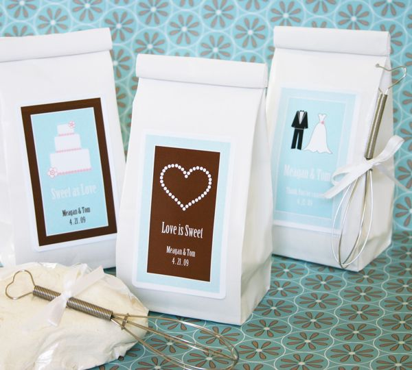 """""""Love is Sweet"""" Personalized Sugar Cookie Mix - easy to do homemade"""