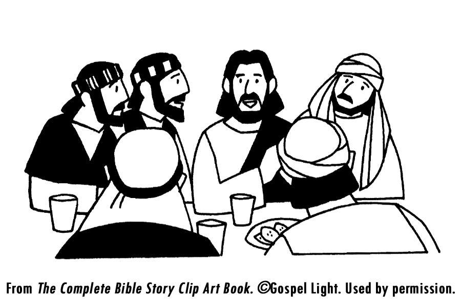 jesus last supper coloring page - last supper teaching resources sunday school resources