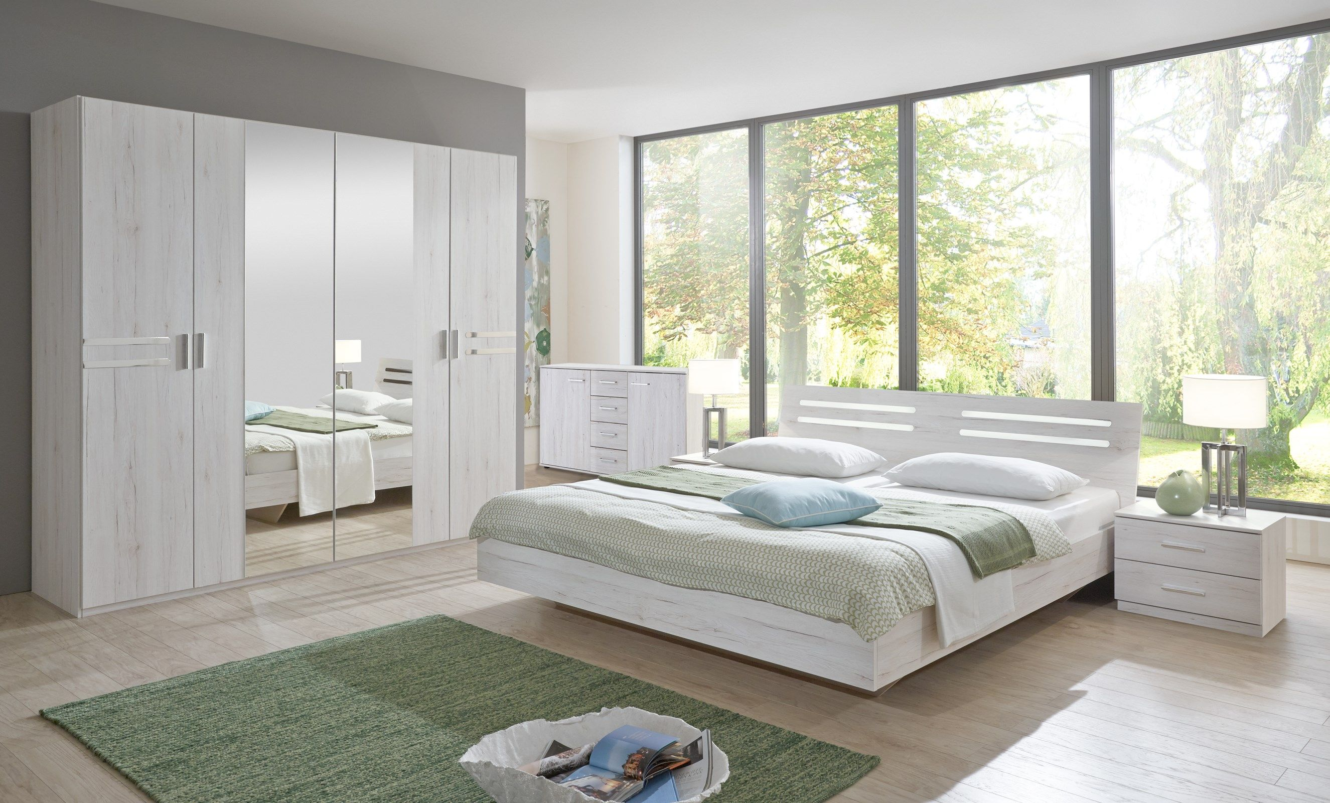 Great Meuble Chambre Ceruse Blanc