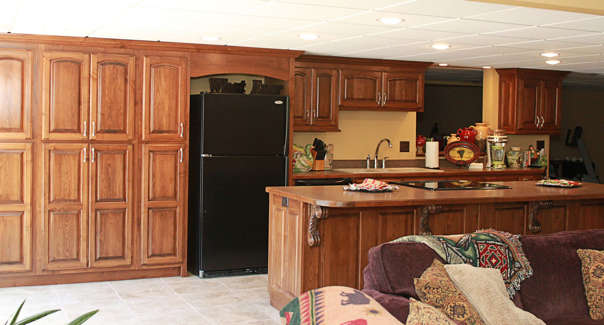 Pin by Cabinets Plus on Clear Alder Cabinets | Alder ...