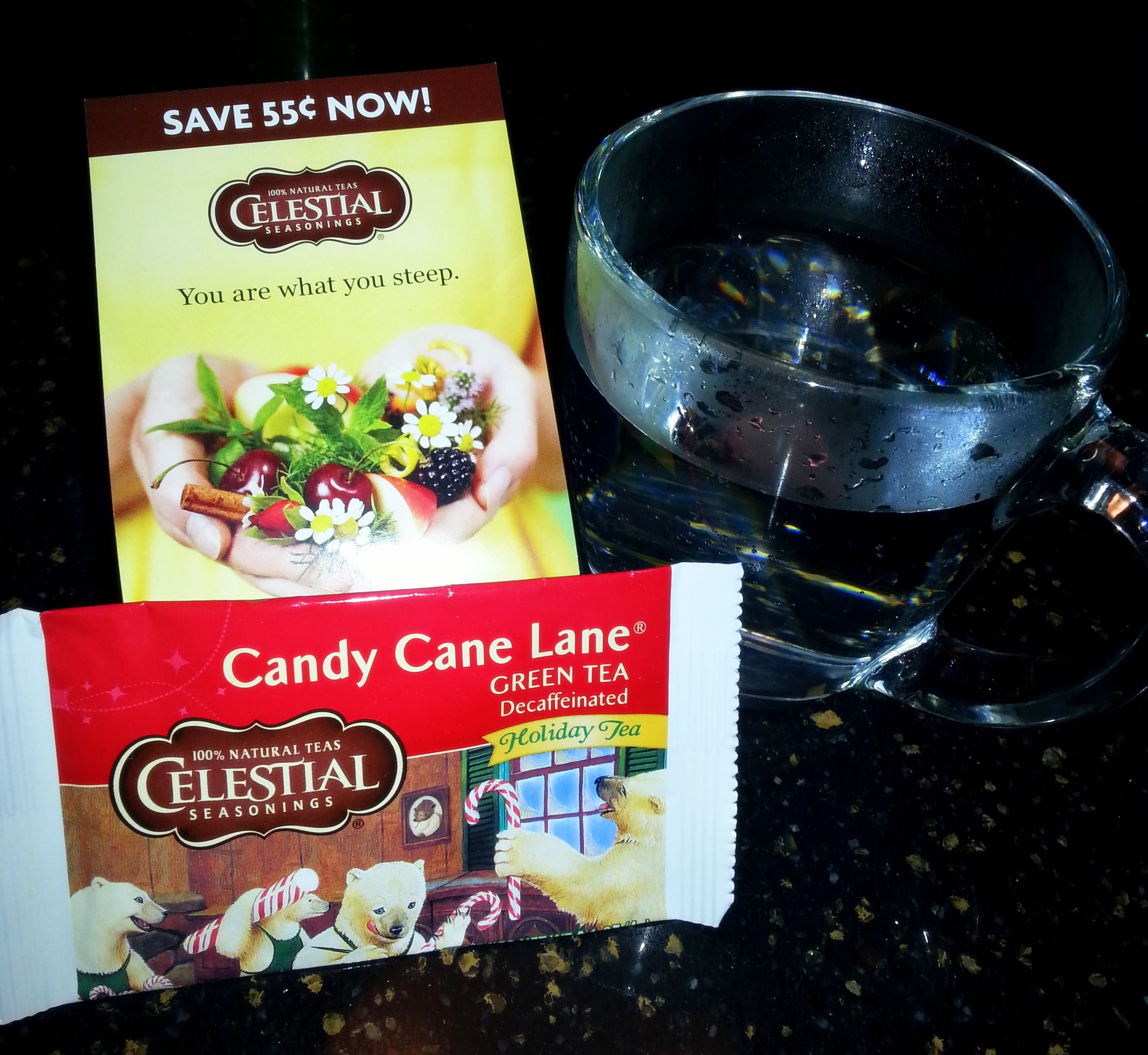 Live life well with a cup of tea a day! Celestial