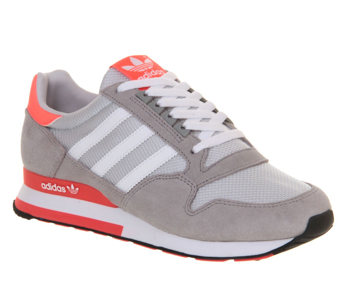 the latest 38233 6b57f Adidas Zx 500 Light Grey Neon Pink Exclusive - Unisex Sports