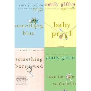 Set of 4 EMILY GIFFIN Novels ~ Something Borrowed, Something Blue, Baby Proof,