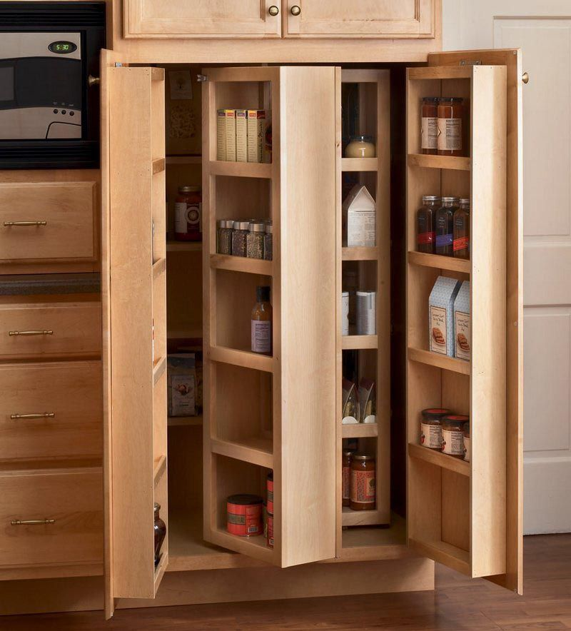 Multi-Storage Pantry Kitchens Contemporary \ Dynamic
