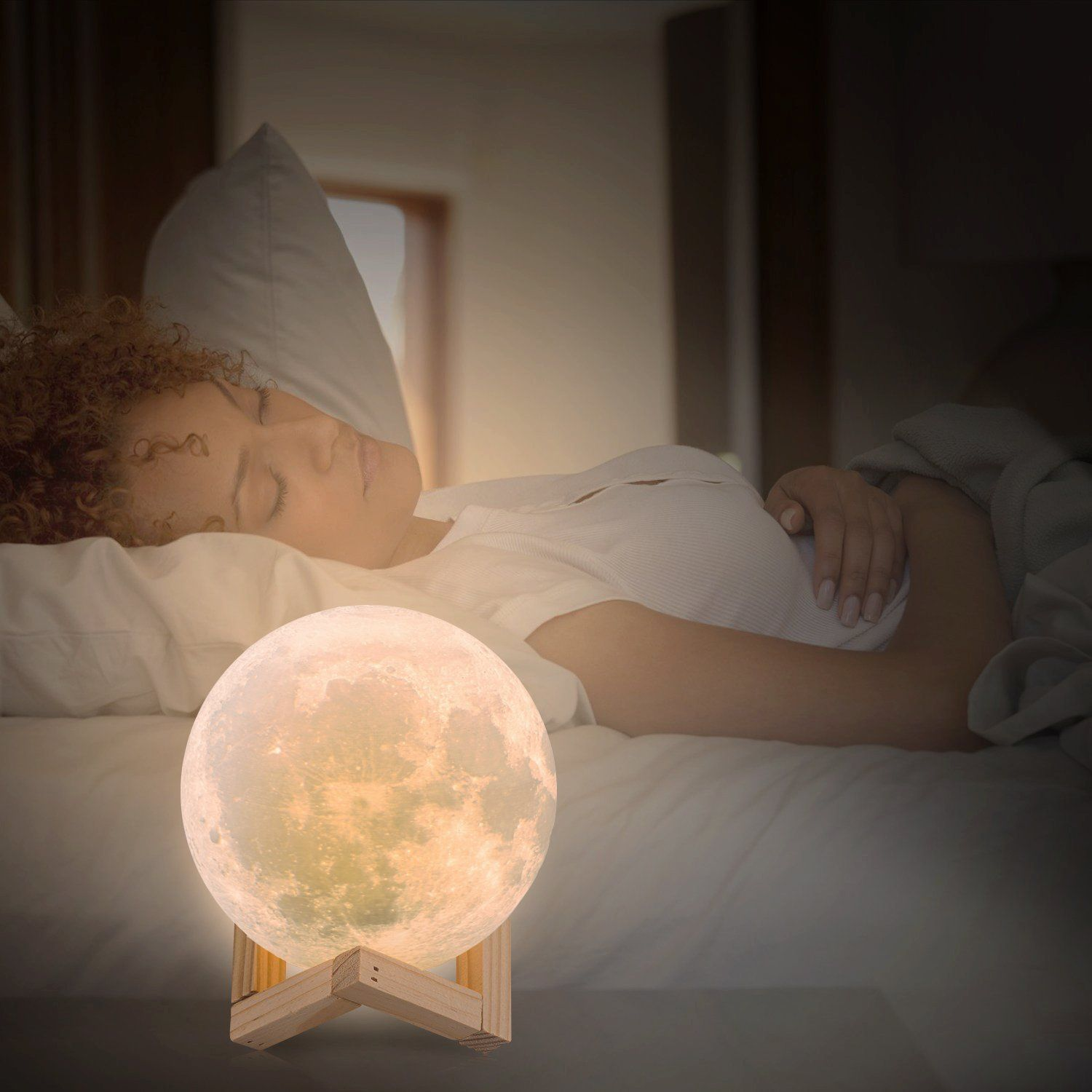 Lol lighting luna moon night light lamps 3d touch sensor led lol lighting luna moon night light lamps 3d touch sensor led bedside table lamp dimmable baby nursery lamp rechargeable battery operated desk lamp for kid geotapseo Choice Image