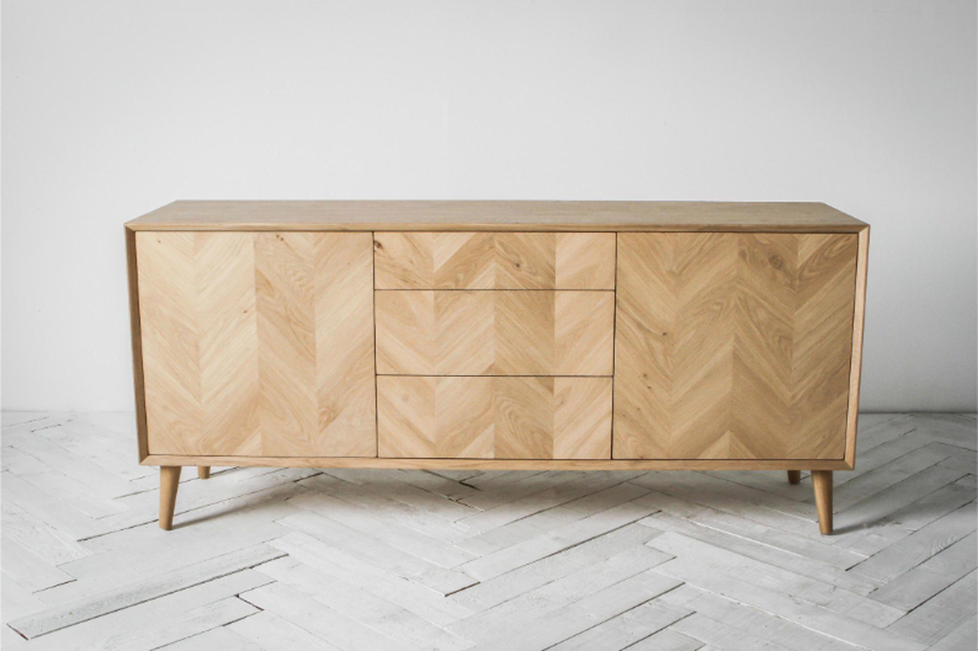 Finn Sideboard Mid Century Sideboard Modern Oak Sideboard