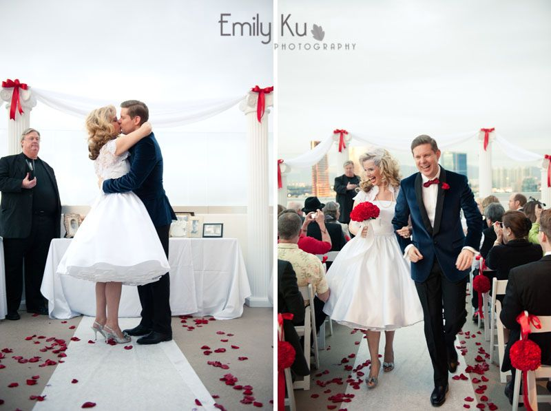 50 S Themed Wedding Photographed By My Friend Emily Ku