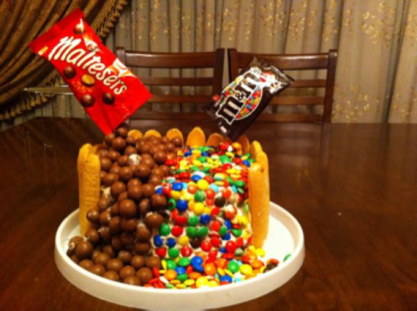 كيكة المالتيزر Fantastic Malteaser Cake Malteaser Cake Food Maltesers
