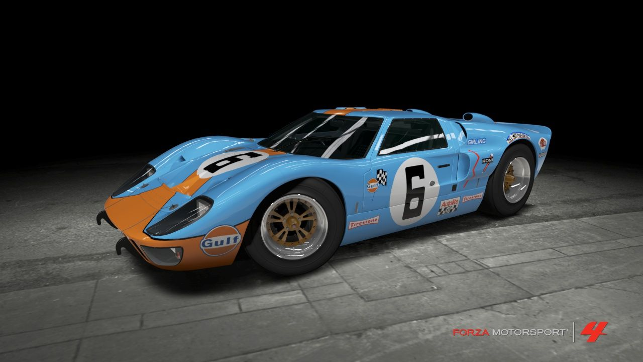 Photos Of Ford Gt40 Race Cars Ford Gt40 M K Ii Gulf Race Car By