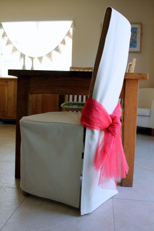 Basic Chair Cover Housse De Chaise Home Deco Et Decoration De Chaise