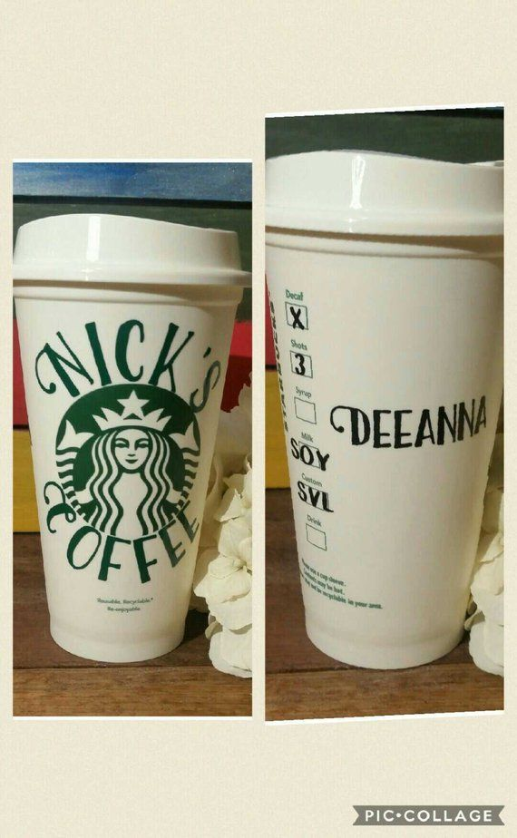 Custom Starbucks Cup Personalized Starbucks Cup Bpa Free Cup