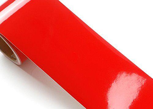 Peel Stick Flame Retardant Border Sticker High Glossy Solid Red Color Contact Paper Selfadhesive Removable Bo Peel Stick Backsplash Shelf Liner Adhesive Vinyl