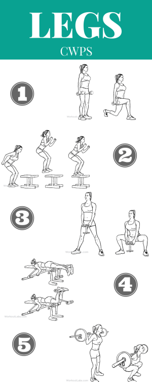 The Best 5 Gym & Home Leg Exercises You Need To Do | Fitness