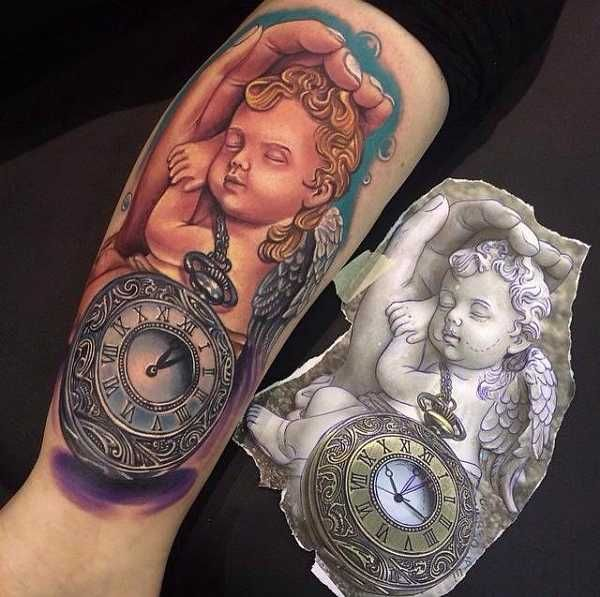 engel tattoos angel tattoos pinterest tattoo ideen. Black Bedroom Furniture Sets. Home Design Ideas