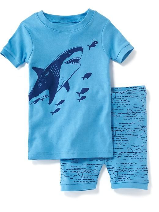 Shark Graphic Sleep Set For Baby Product Image Cheap
