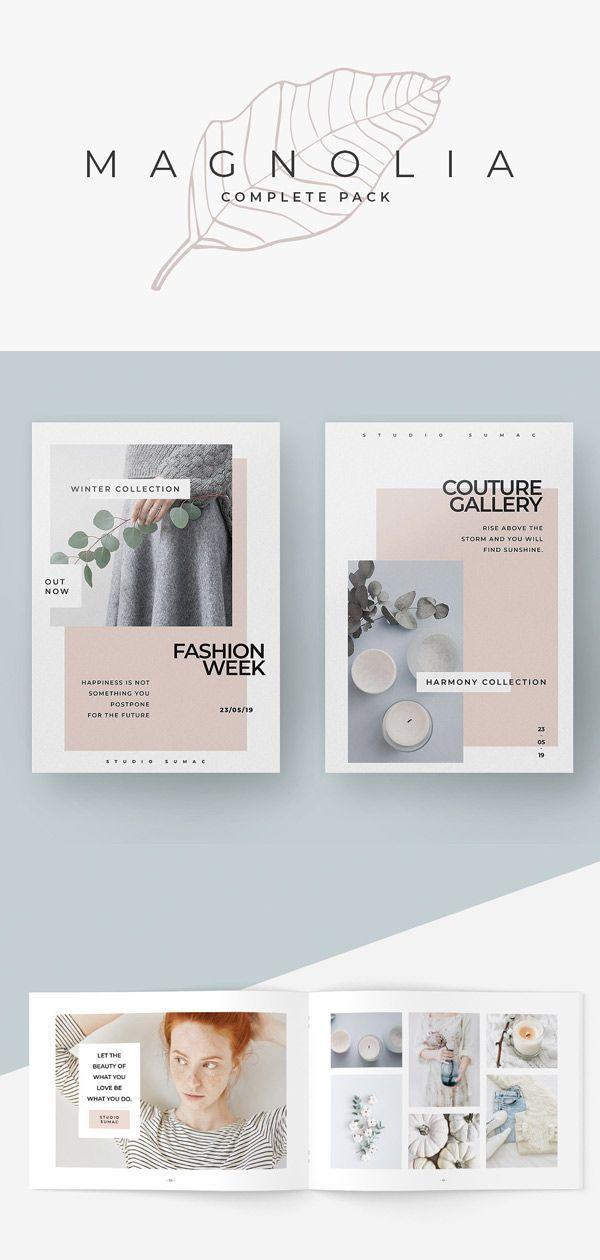 Presentation TemplatesMagnolia Complete Pack by studiosumac in Presentations
