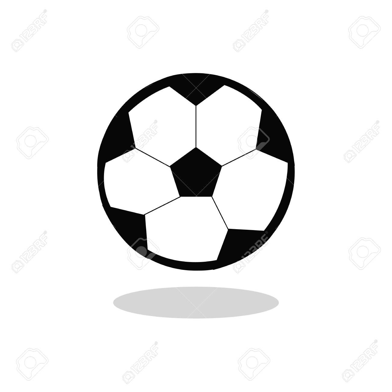 Football Soccer Ball Cartoon Isolated Flat Design Sponsored Ball Soccer Football Cartoon Design In 2020 Yellow Accent Chairs Design Modern Kitchen Design