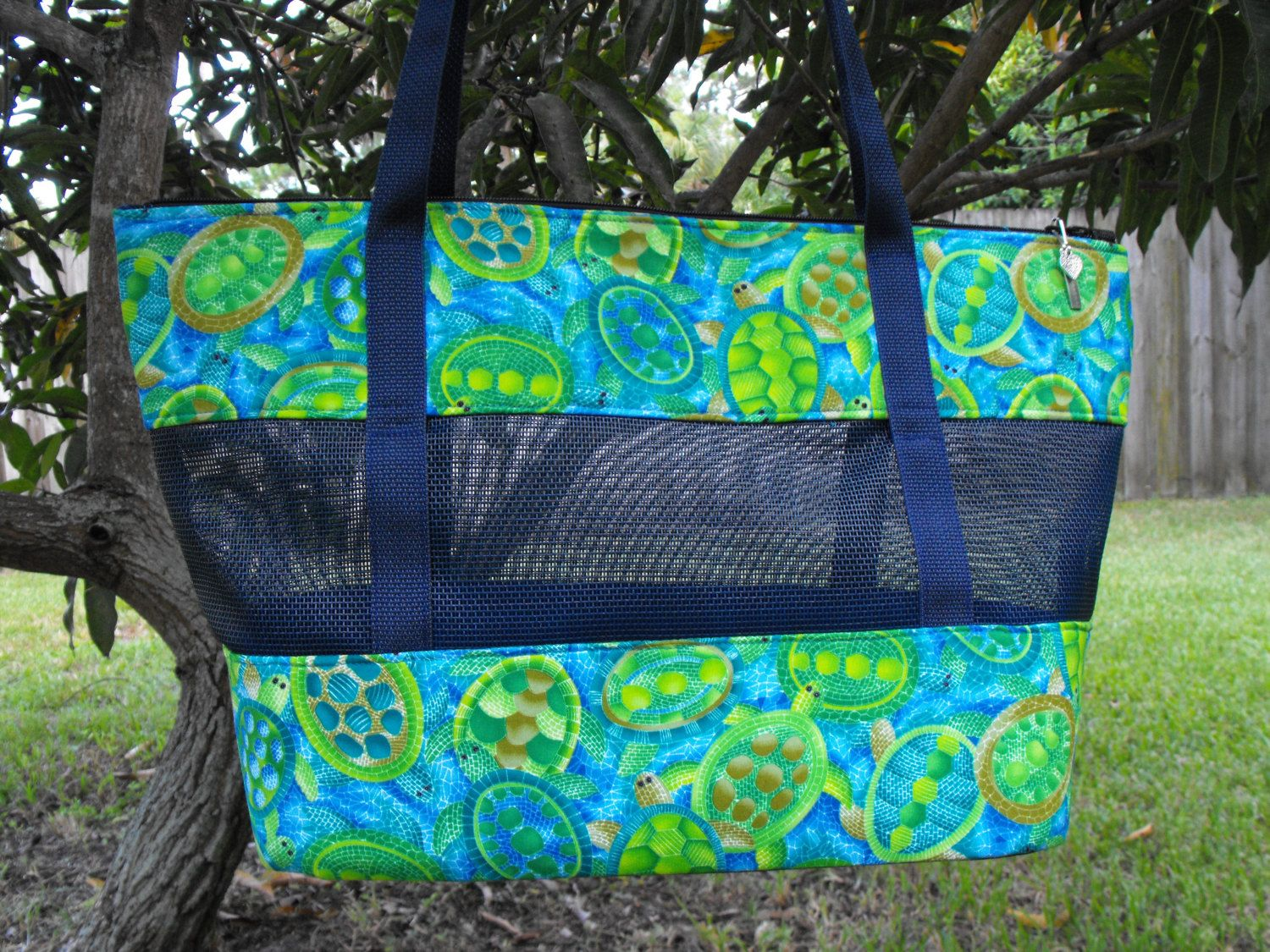 """Pet Carrier -Mosiac Turtles-""""Ready to Ship"""" by DKPurses on ..."""