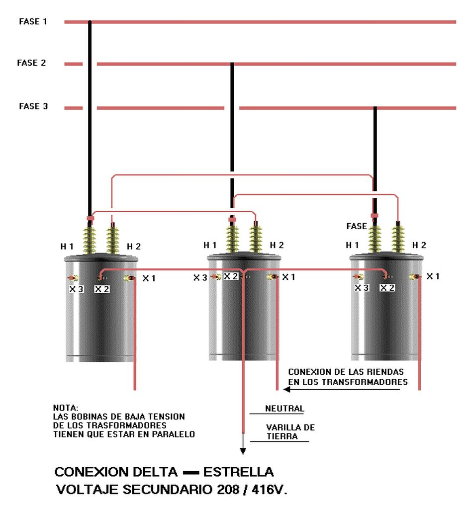 Electrical Delta Estrella Electrical Projects Electrical Installation Electric Power Distribution