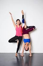 image result for partner yoga  partner yoga yoga partners
