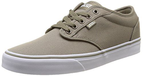 Vans Men's Atwood (Canvas) Brindle/White Skate Shoe 7.5 Men US - http