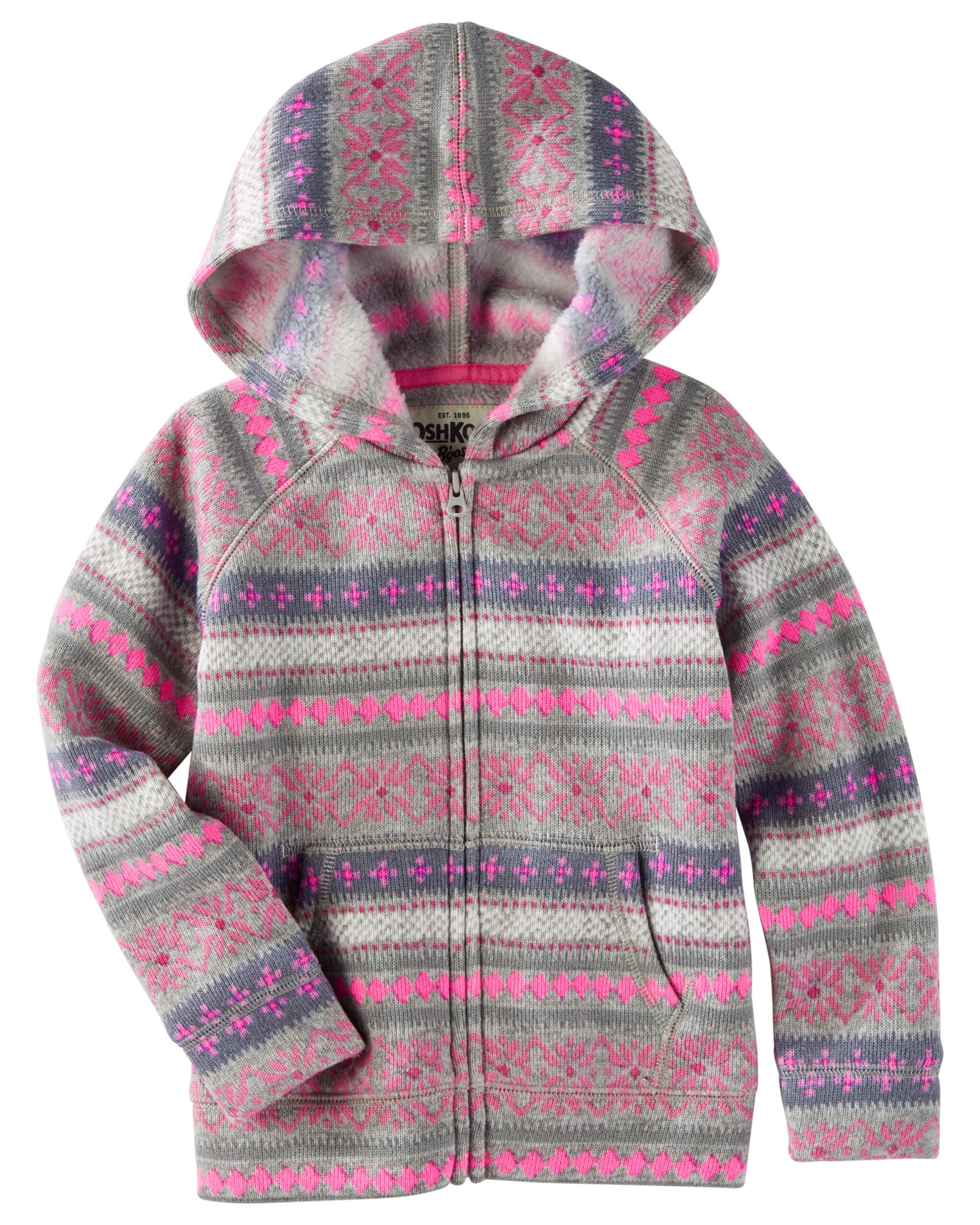 Hooded Fair Isle Sweater | Babies clothes, Toddler girls and Babies