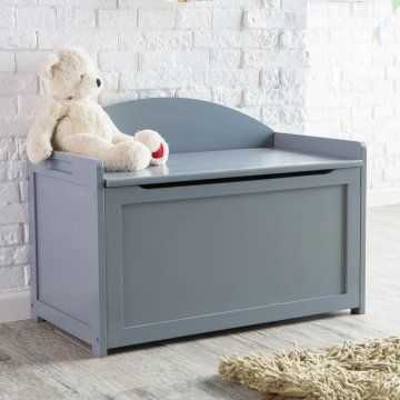 Lipper Gray Toy Box Toy Chests At Hayneedle Toy Boxes