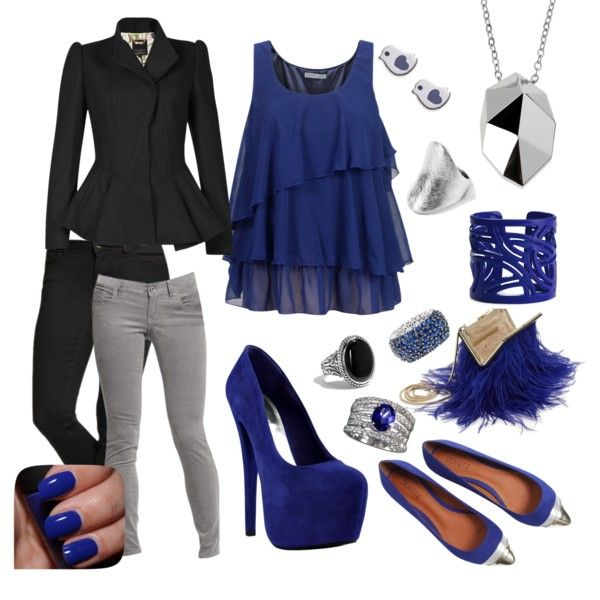 """Fit for a Rockstar with Old Navy"" by distressinthisdress on Polyvore"