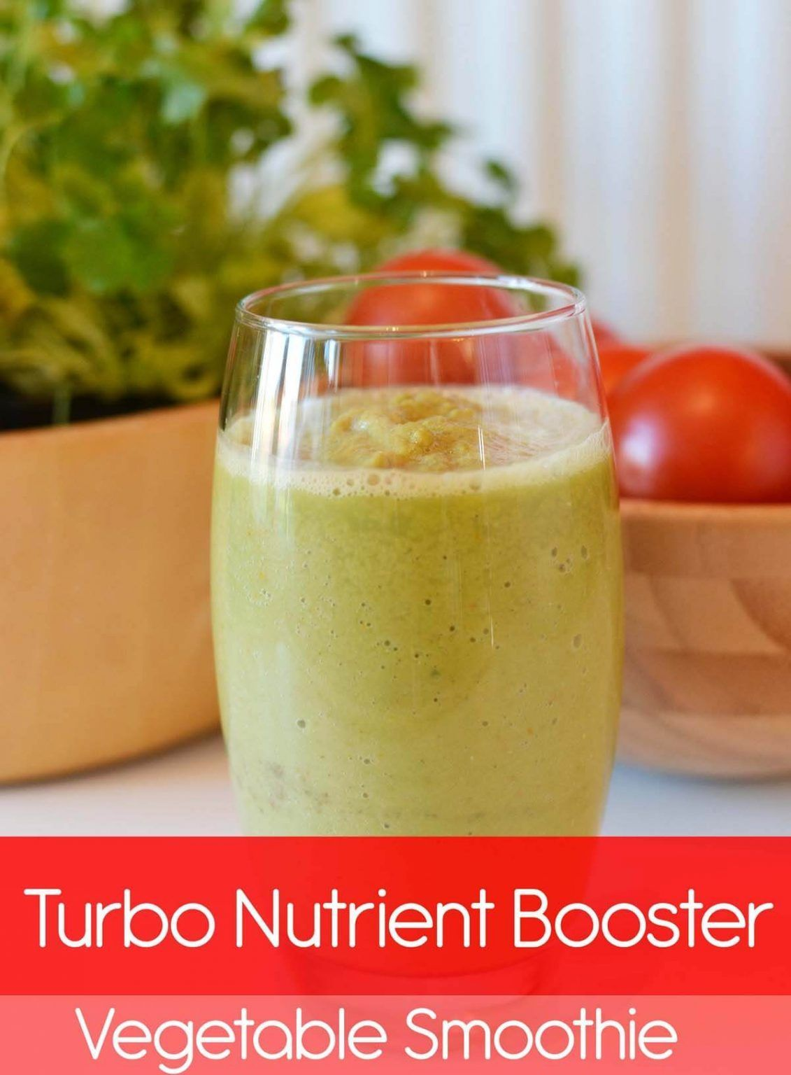 Turbo Nutrient Booster Vegetable Smoothie Vitamin
