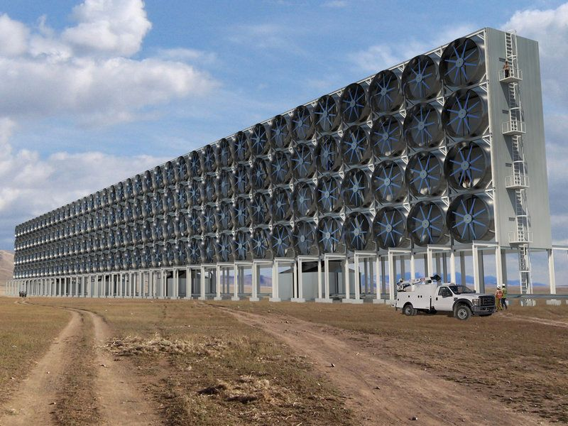 How One Company Pulls Carbon From The Air Aiming To Avert A Climate Catastrophe With Images Greenhouse Gases Carbon Dioxide Green Energy