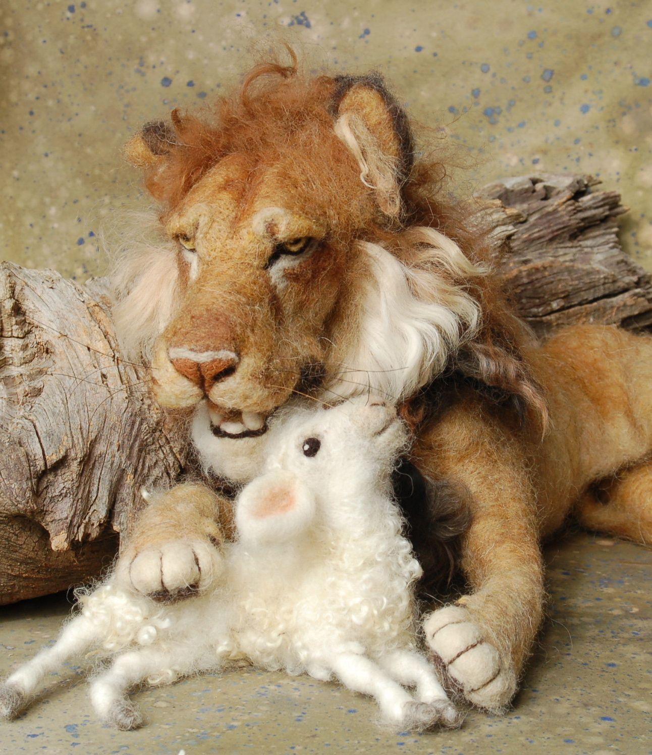 Открытки, картинки льва и барашка прикольные