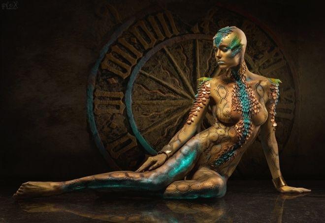 Intricate And Elegant Examples Of Human Body Art Stockvault Net Blog Body Painting Body Art Painting Human Body Art