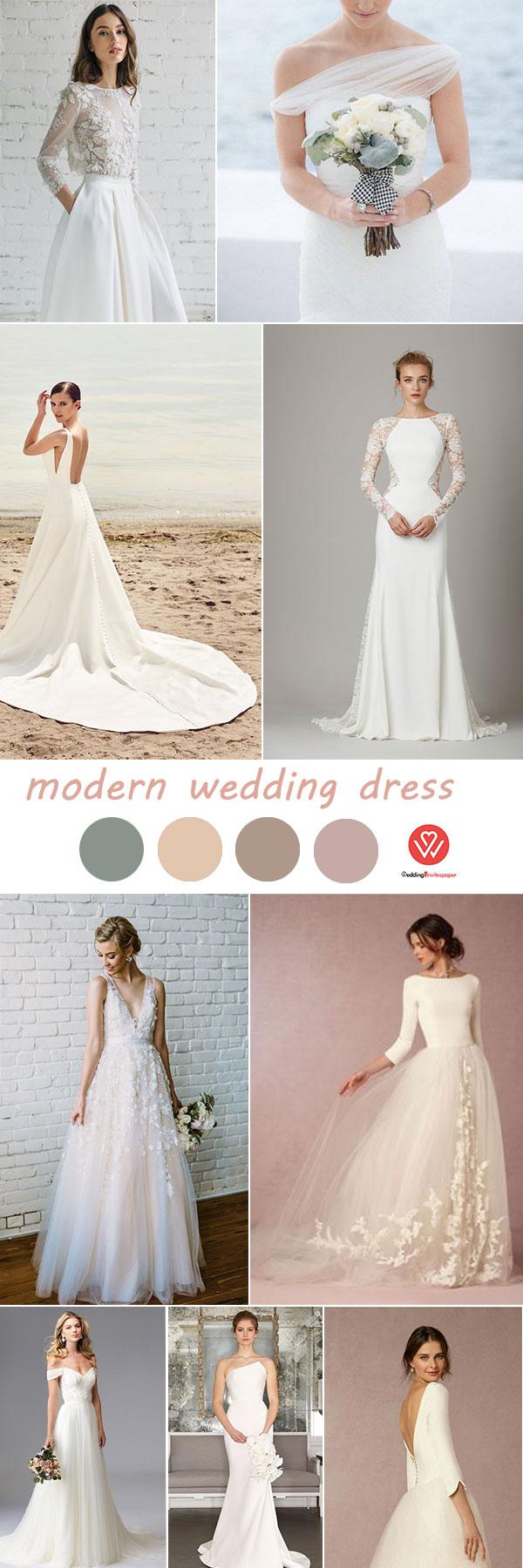 Cheap rustic wedding dresses   Most Popular Elements In Modern Wedding long elegant wedding