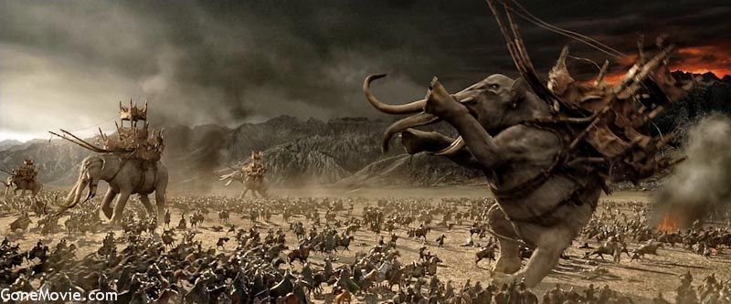Image result for lord of the rings return of the king battle