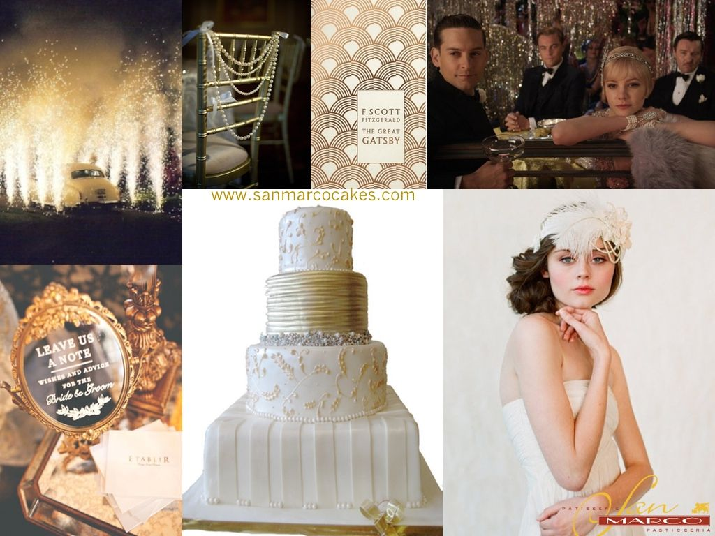 Great gatsby themed wedding dress  I like the beads on the chairs  My Wedding Ideas  Pinterest