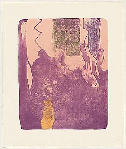 Helen Frankenthaler, Reflections X, 1995. Lithograph. 45.7 x 38.1 cm. Ed. 30