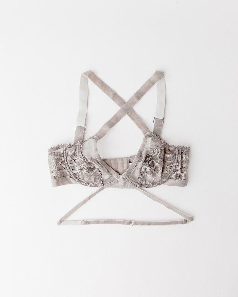 16045de469ea6 Winona Underwire Bra in Dove by Lonely. Underwired stretch lace and mesh bra  is…